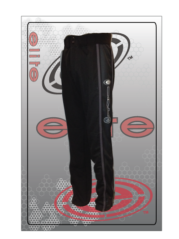 ES 5009 Black Out Black Softball Pants