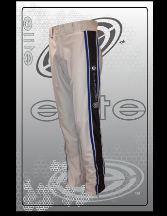 ES 5009 Grey with black panels and royal piping